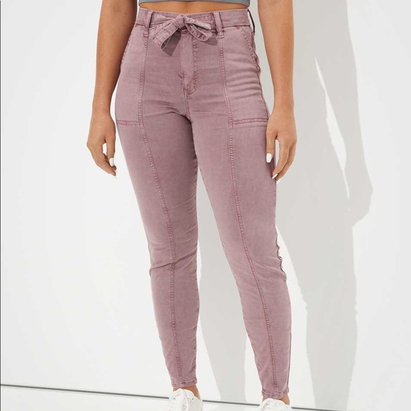 AMERICAN EAGLE Curvy High-waisted stretch jegging